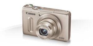 Le Canon PowerShot S100 est disponible en plusieurs coloris.