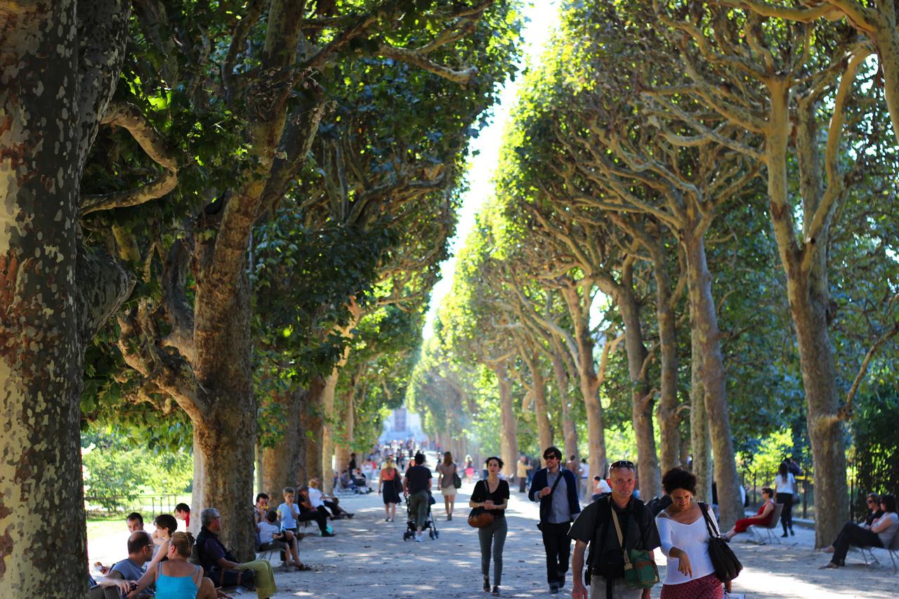 Voir paris en vert changez de regard nul en photo - Pont du jardin des plantes ...