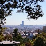 La Tour Montparnasse depuis Montmartre