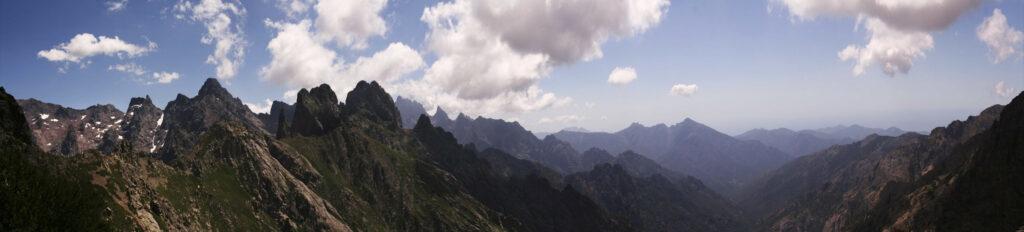 Panorama en Corse